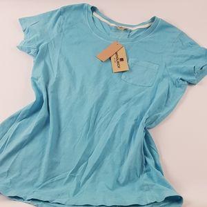 Woolrich blue light medium new shirt